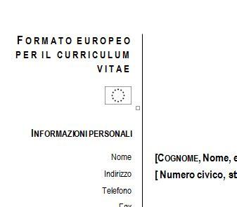 Datos curriculum vitae word